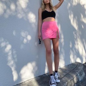 Verge girl pink skirt
